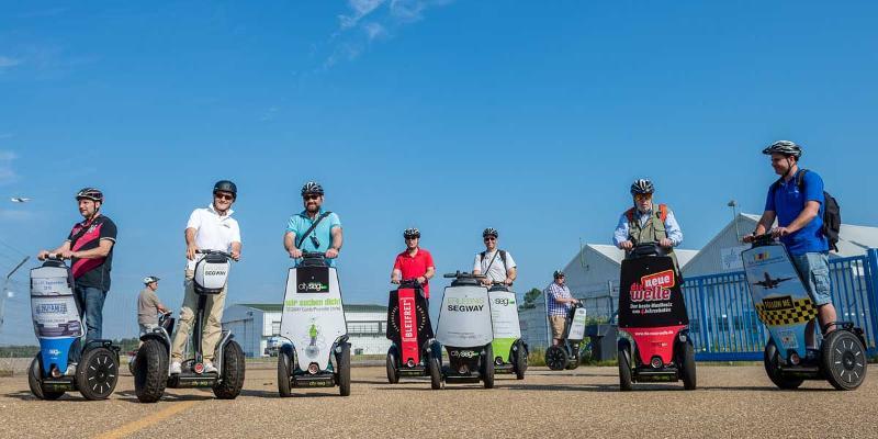 Segway-Tour: Rund um den Baden-Airpark