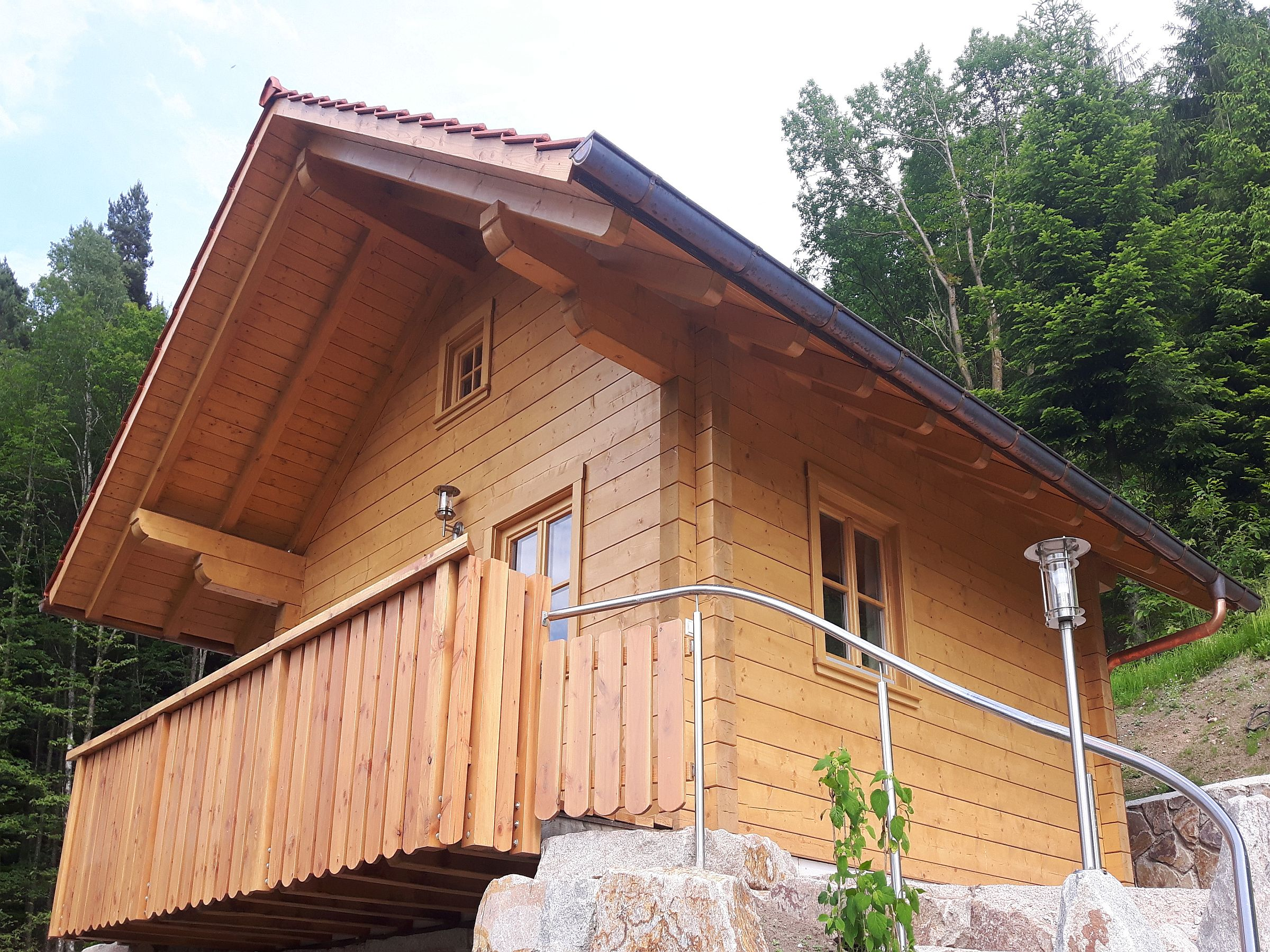 Ferienwohnung Ferienhof Fischer, (Seebach). Blockhütte für max. 4 Personen (2215201), Seebach, Schwarzwald, Baden-Württemberg, Deutschland, Bild 13