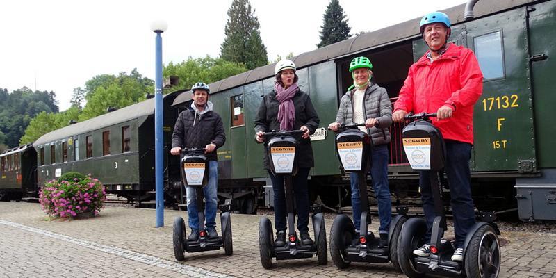 Segway-Tour: Kandertalbahn-Tour