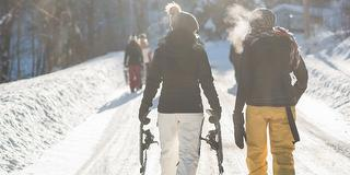 "Schneeschuhwanderung: Panoramatour zum ""Heißen Stein""-Buffett / Urheber: Original Landreisen AG / Rechteinhaber: © Original Landreisen AG"