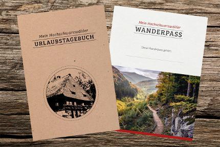 Urlaubstagebuch mit Wanderpass