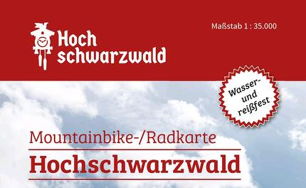 Mountainbike-/Radkarte Hochschwarzwald