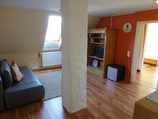 großes Familienzimmer - Wohnbereich