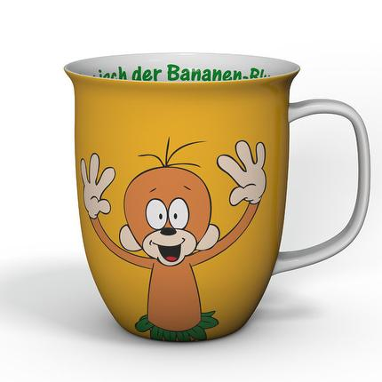 "Äffle&Pferdle Kaffeebecher ""Bananen-Blues"""