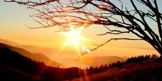 Sonnenuntergang am Schauinsland / Urheber: Original Landreisen AG / Rechteinhaber: © Original Landreisen AG