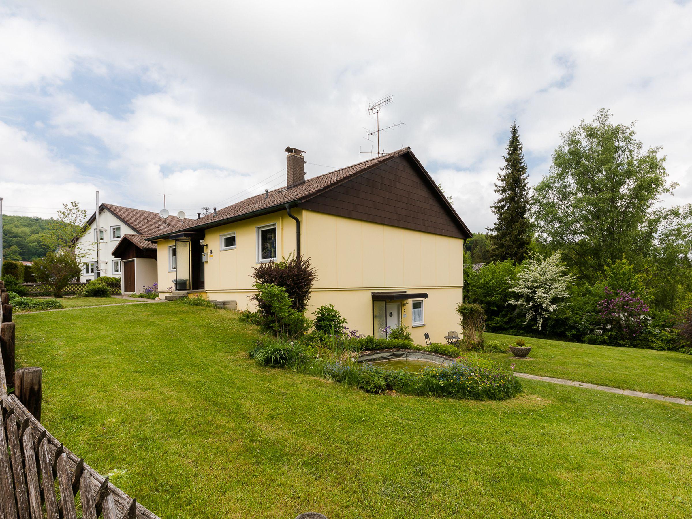 Haus Wiesengrund, (Gammertingen). Ferienwohnung Dachs, 50