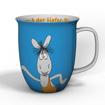 "Äffle&Pferdle Kaffeebecher ""Hafer-Blues"""