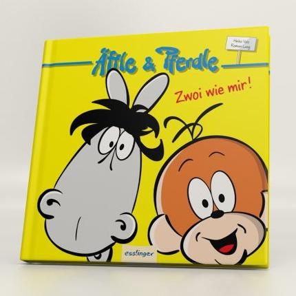 "Äffle&Pferdle Geschenkbuch ""Zwoi wie mir"""