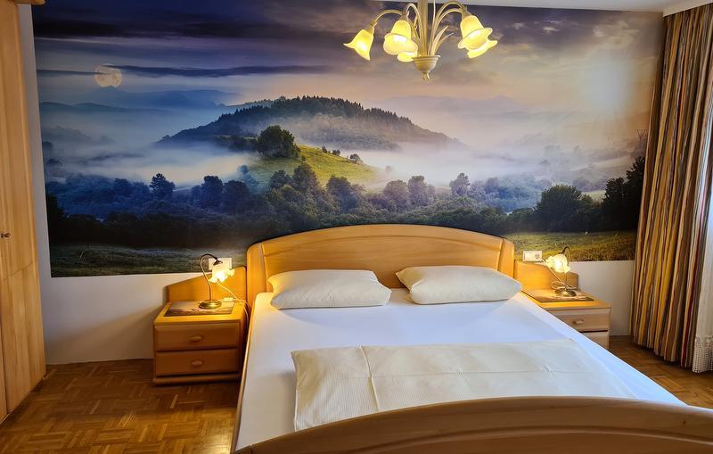 Ferienwohnung Südschwarzwald - Schlafzimmer mit Balkon