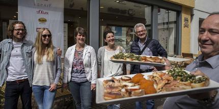 Restauranthopping: Amüsantes und Pikantes, Stadtrundgang in 3 Gängen