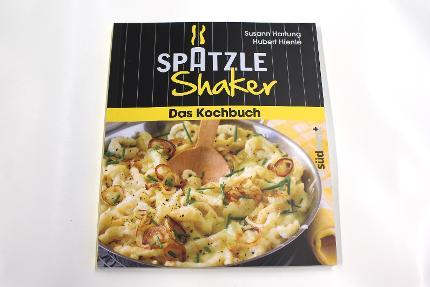 BW Spätzle-Shaker Kochbuch