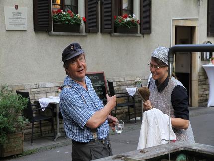ERNA SCHWÄTZELE TRIFFT JAKOB BRUNNEMEISTER - ZWOI CANNSTATT-SCHAFFER