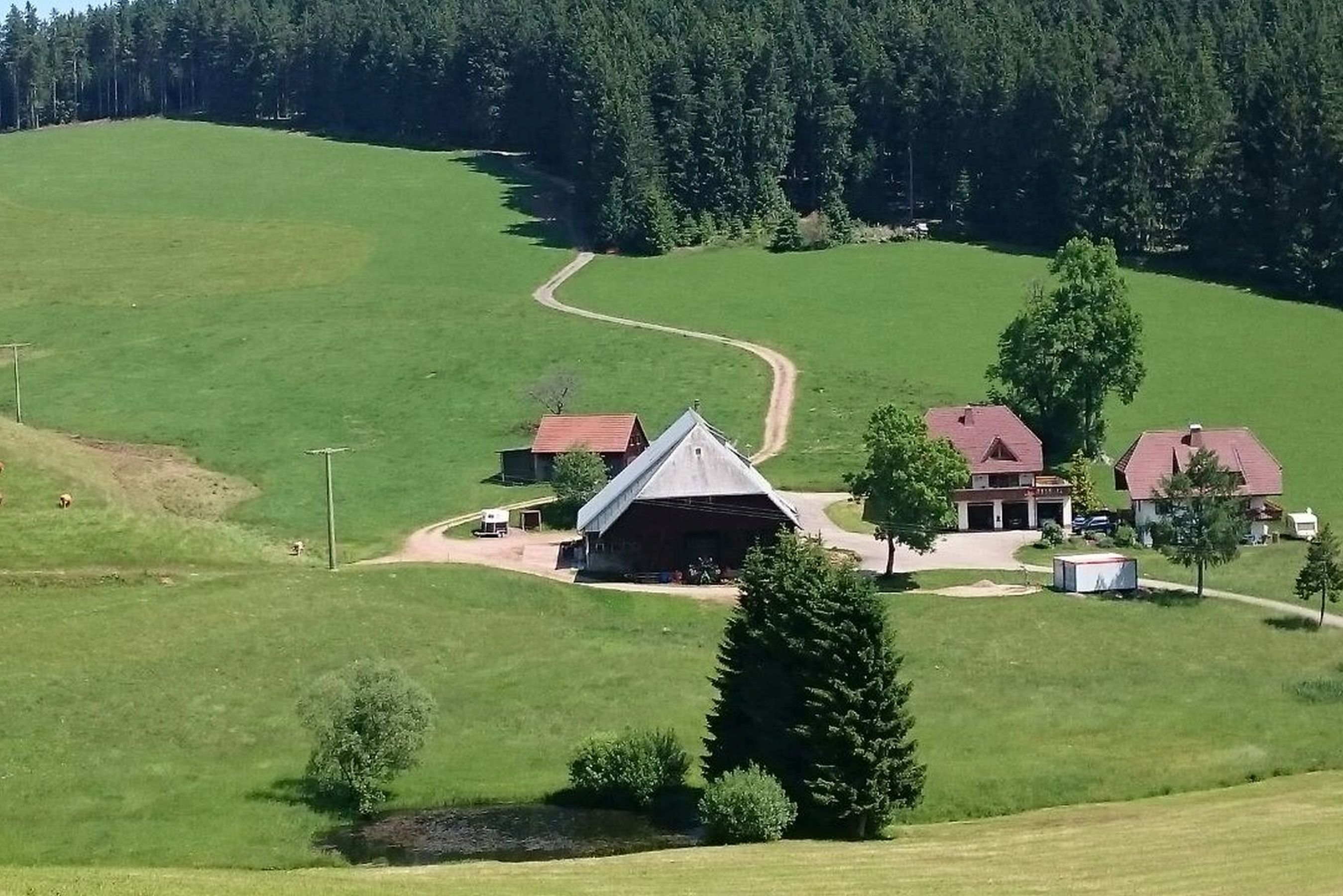 Oberengenbachhof, (Eisenbach). Pusteblume, 60qm, 2