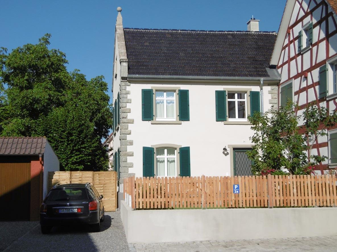 Ferienhaus Schlößleweg 2a, (Bodman-Ludw Ferienhaus am Bodensee