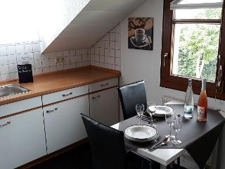 Essen/Küchenzeile Ferienwohnung Hohen Neuffen-Blick