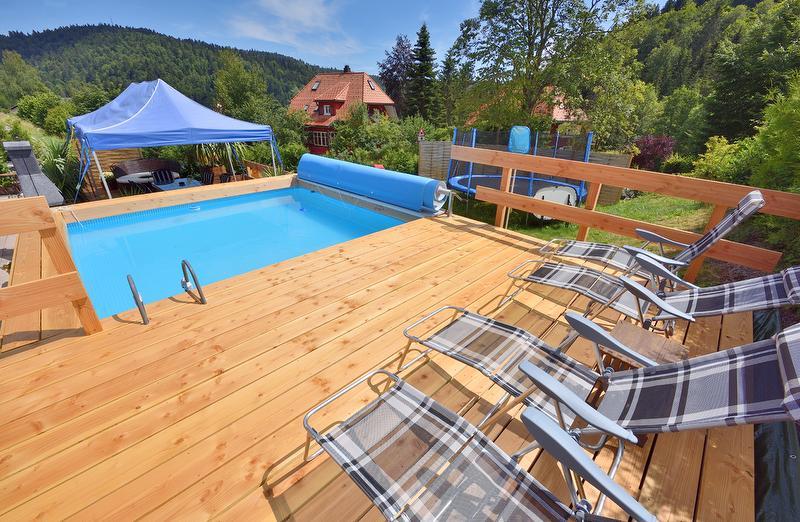 Garten, Pool