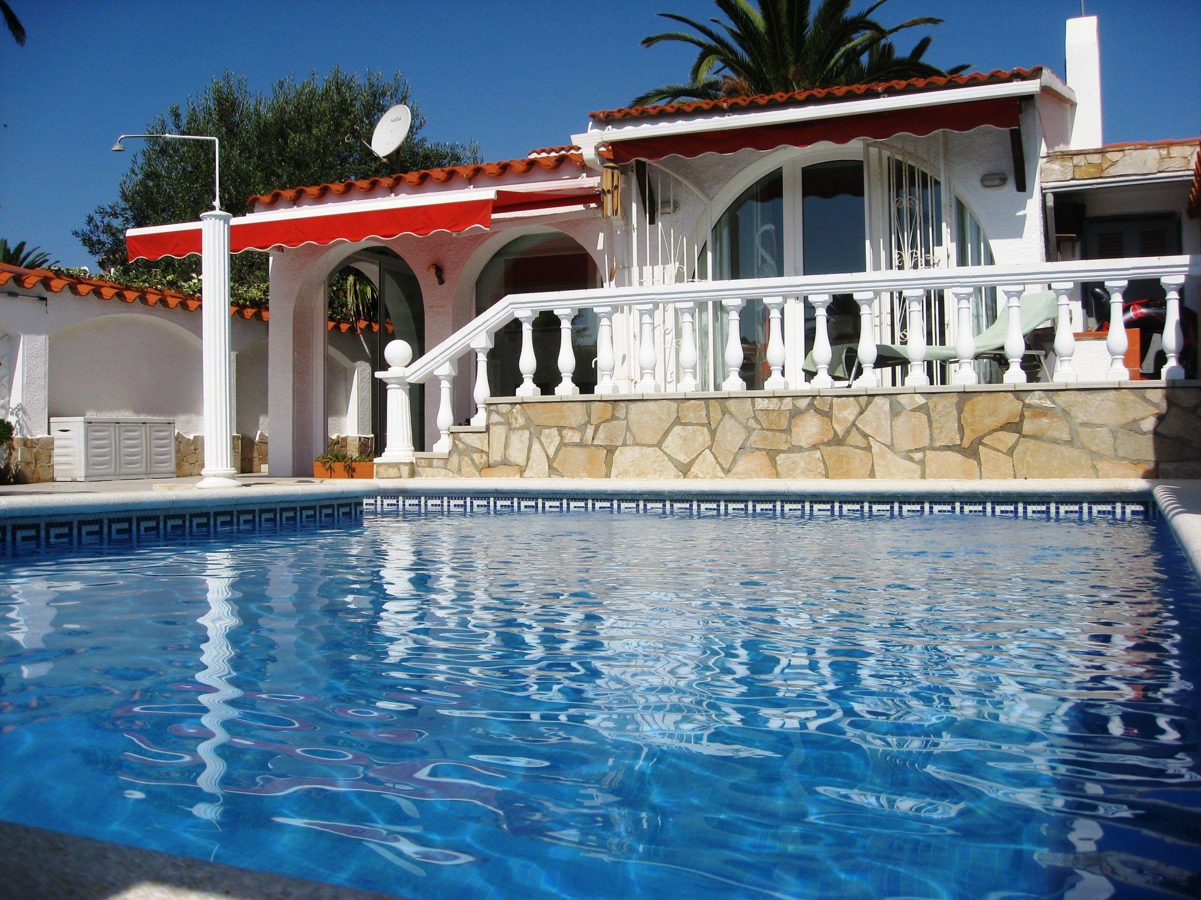 Casa Marisol Ampuriabrava Casa Marisol mit Pool 120qm 2 Schlafzimmer max 7 Personen