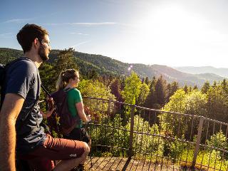 Huberfelsen - Zweitälersteig / Urheber: ZweiTälerLand Tourismus / Rechteinhaber: © Kunkel