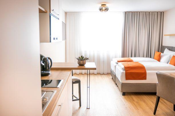 bodenseezeit Apartmenthotel Garni, (Lindau am Bode Ferienwohnung am Bodensee