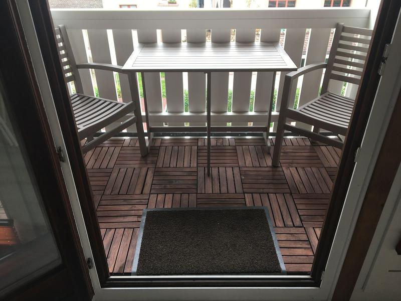 Sitzgruppe Balkon