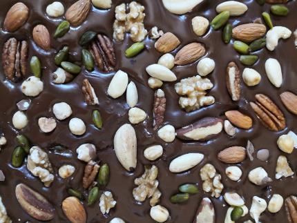 Schokolade selbst hergestellt
