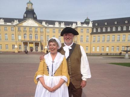 Dinnerspektakel, Markgraf Karl-Wilhelm und seine Familie