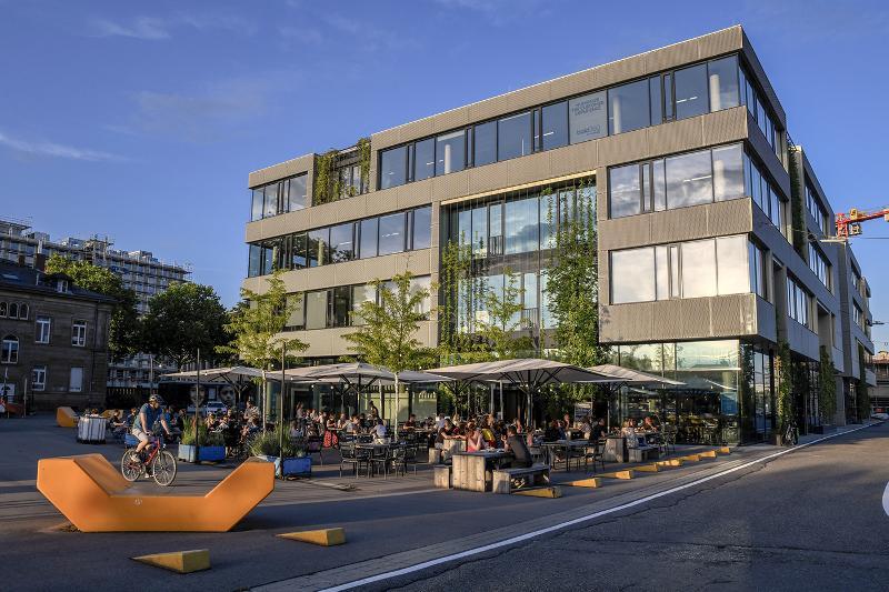 Kreativpark Alter Schlachthof Karlsruhe / Urheber: Fabian von Poser / Rechteinhaber: © KTG