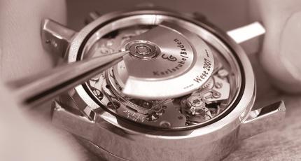 Besuch einer Uhrenmanufaktur