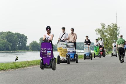 "SEGWAY/Scrooser Tour Karlsruhe II ""Rheintour"""