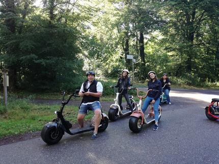 """SEGWAY/Scrooser Tour Karlsruhe III """"Albtour"""""""