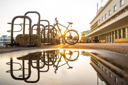 Friedrichshafen mit dem Rad