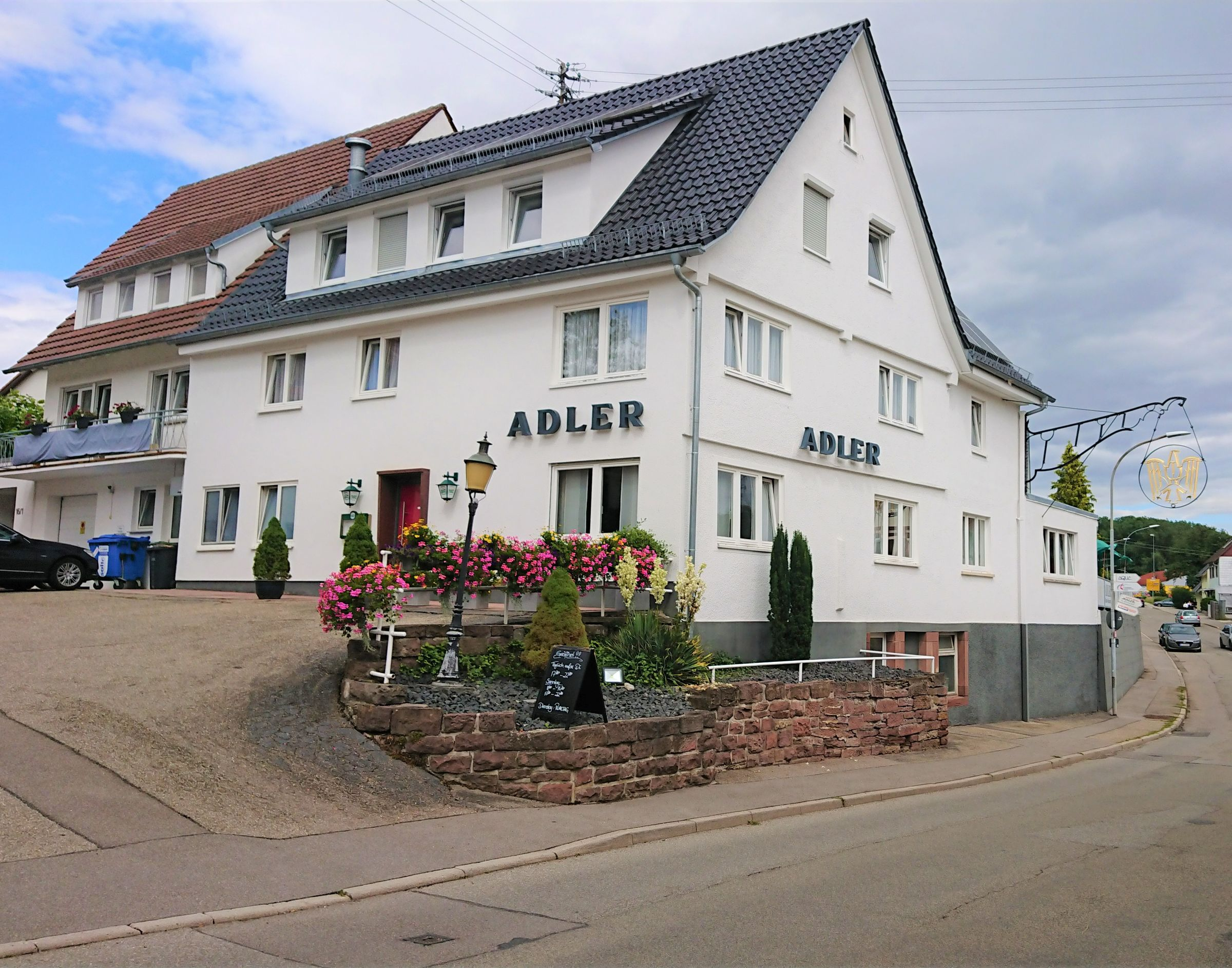Gasthaus Adler, (Calw). Doppelzimmer mit separatem