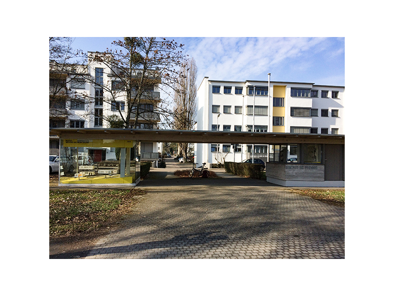 Dammerstocksiedlung / Urheber: Nina Rind / Rechteinhaber: © KTG