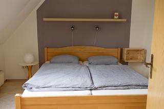 Schlafzimmer der FeWo Nr. 1