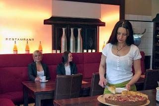 Kuchenbuffet in Restaurant