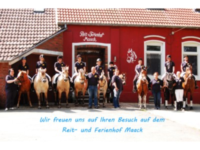Maack Reit und Ferienhof Ostbense Ferienwohnung 25391 Harlesiel