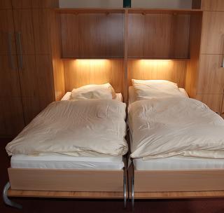 Die komfortablen Schrankbetten