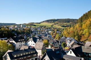 Blick vom Balkon / Rechteinhaber: © Café Alt Willingen