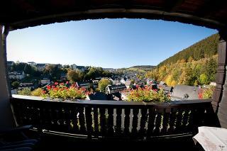 Ausblick vom Balkon / Rechteinhaber: © Café Alt Willingen
