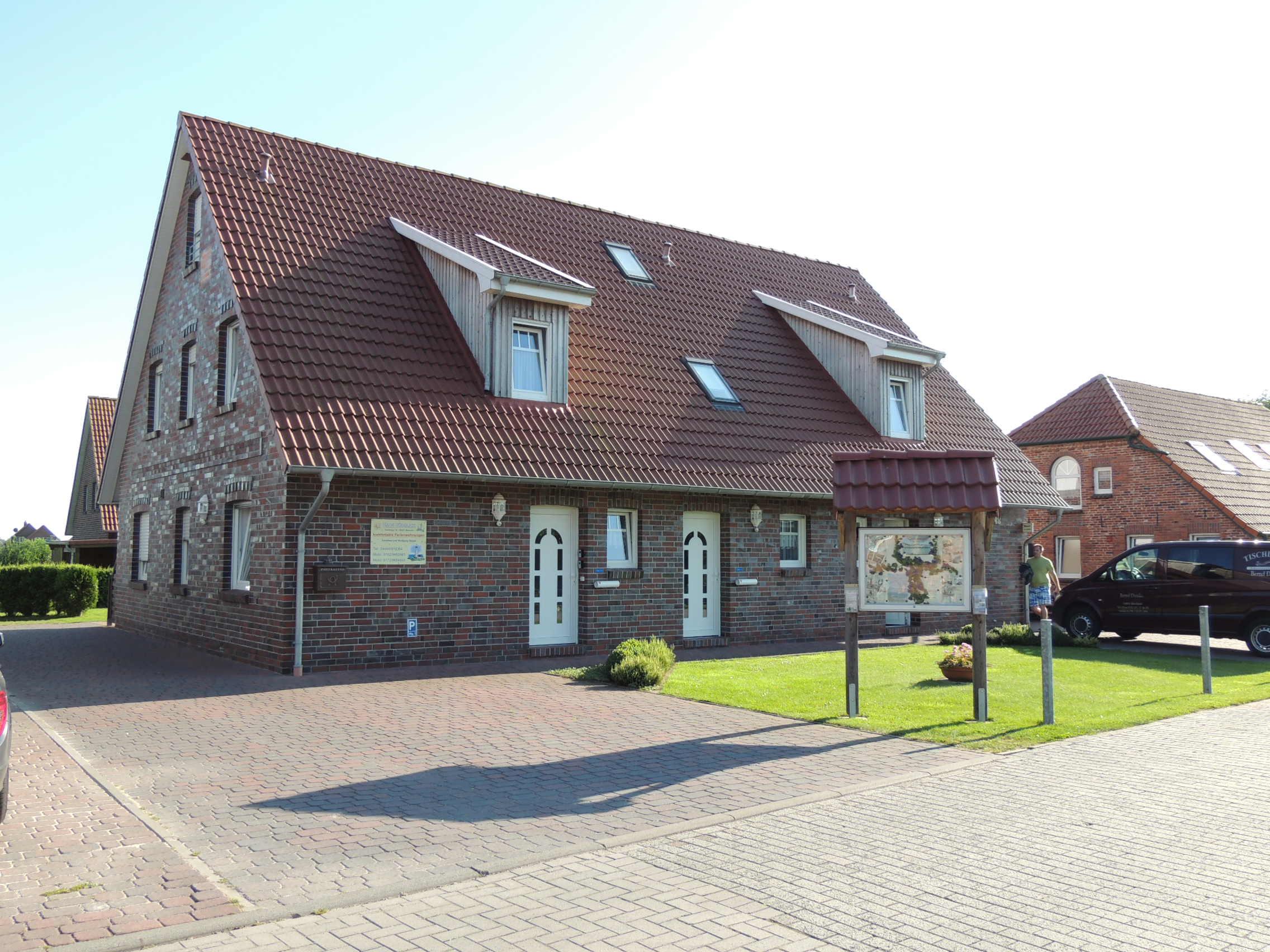 Deppe Wolfgang Haus Südblick Werdum Ferienwohnung 1 35988