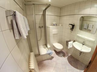 Beispiel Badezimmer / Rechteinhaber: © Pension Haus Christel