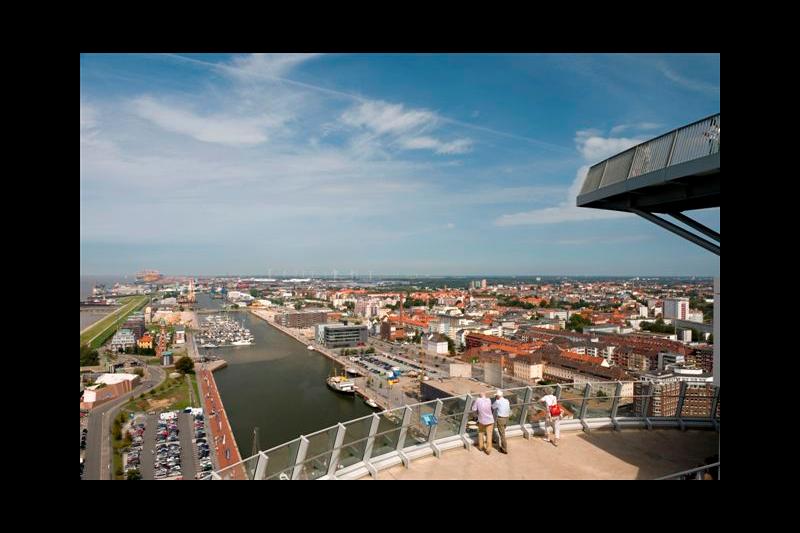 Aussichtsplattform SAIL City / Urheber: Antje Schimanke / Rechteinhaber: © ATLANTIC Hotel SAIL City
