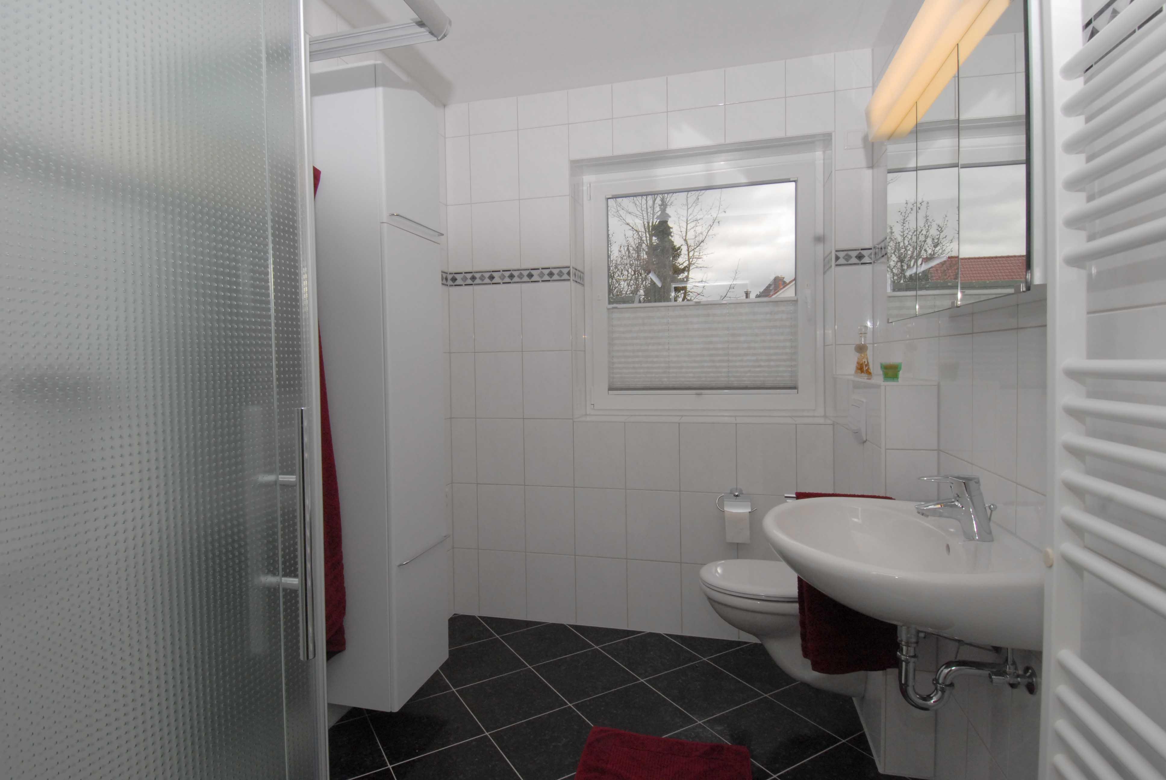 pape - ferienwohnung, (steinfurt). ferienwohnung, 50 qm, 1-2 personen,, Badezimmer ideen