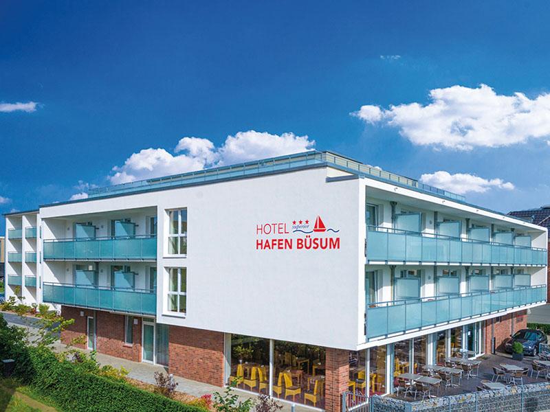 Hotel Hafen Büsum GmbH 251 Büsum Doppelzimmer Hafenmeister mit Balkon 251 008