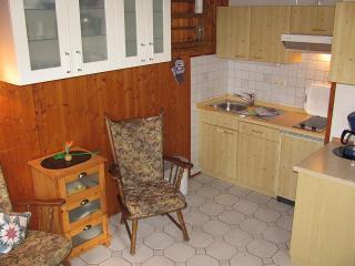 Küche mit Geschirrspüler