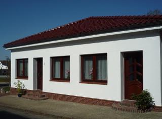 Hauseingänge für Wohnung 1 und 2