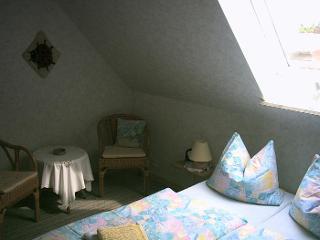 Blick in das Zimmer