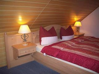 Betten im Doppelzimmer