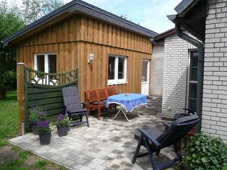 Terrasse Ferienhaus Carstensen-Klatt