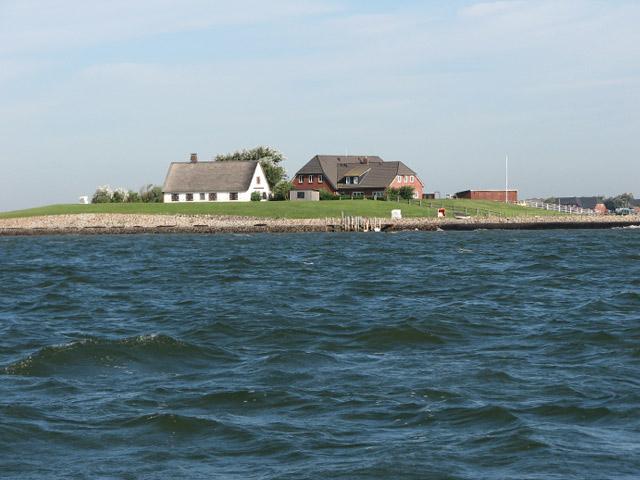 Gästehaus Neuwarft (Hallig Langeneß). F Ferienwohnung an der Nordsee